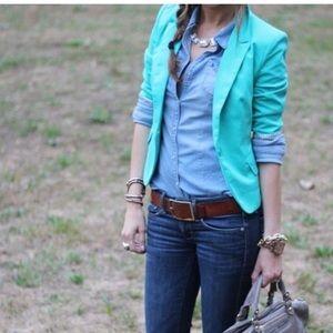 H&M button down blouse size 4
